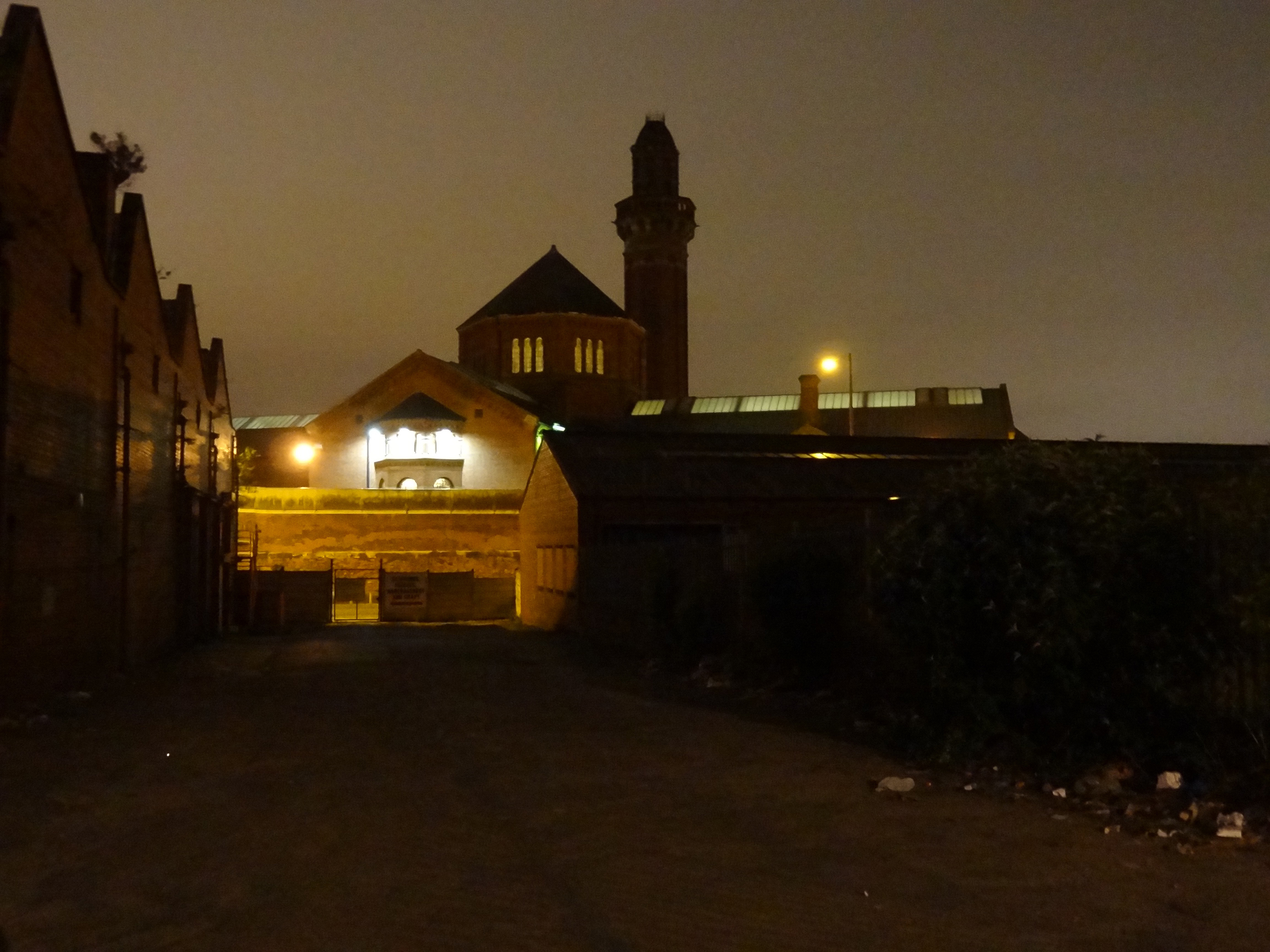 Strangeways in Salford, the panopticon of light.