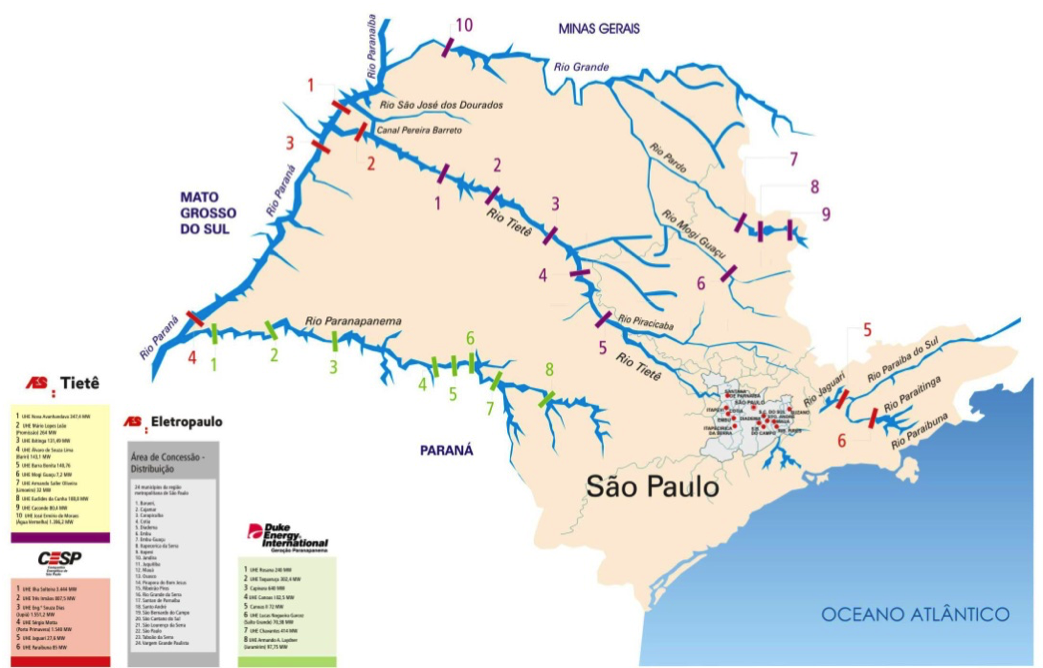 Privatization struck São Paulo State more heavily than the rest of Brazil