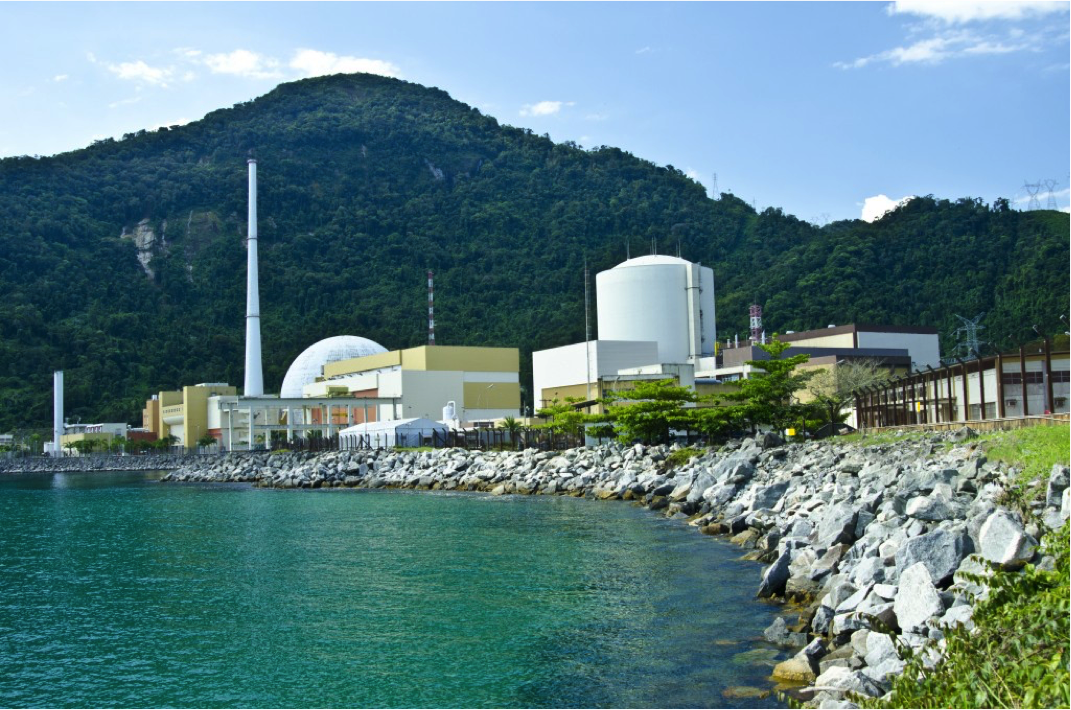 Almirante Álvaro Alberto power station in Angra dos Reis